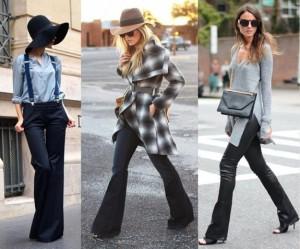 look-con-pantaloni-svasati